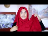 [Adlina Anis] Hijab Tutorial 12 - The Criss Cross Square