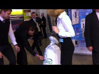 UpGrid 2012. Награждение робота!