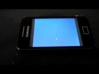Попытка запустить Windows XP servicepack3 oem x14-73341 на Samsung Galaxy Ace 5830i