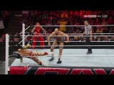 [#MyPRW] Tag Team Match: Rey Misterio vs. Sin Cara vs. The Real Americans (Antonio Cesaro & Jack Swagger) [WWE Monday Night RAW 27.01.2014]