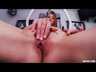 Shae Snow (Workout Wanking) Lingerie, Solo