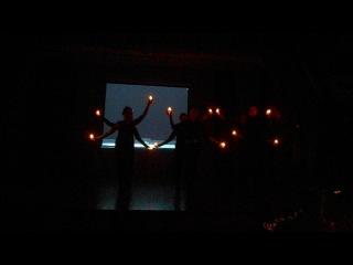 Танец со свечами на День матери 11 Б