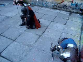 Уличные рыцари Петербурга