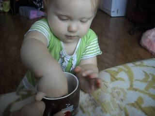 вот так мама пьёт чай!