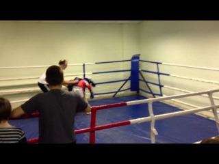 Открытый ринг по тайскому боксу Киселев Никита - клуб Golden Fighter
