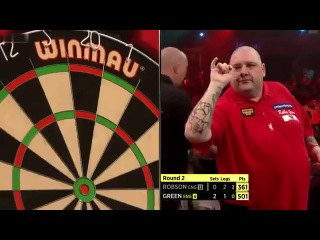 Robbie Green vs Gary Robson (BDO World Darts Championship 2014 / Round 2)