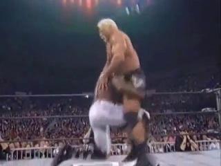 WCW Uncensored: Scott Steiner (w/ Buff Bagwell) Vs. Booker T (14 Марта 1999)