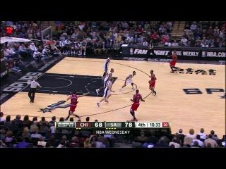 NBA 2012-13 / 07.03.2013 / Сан Антонио Сперс - Чикаго Буллс (2 часть)