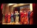 Народный ансамбль песни и танца Весна - Разлетались вороны выступление в Нащекино