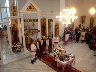 Божичі - Колядка Ой, у лісі в лісі церковка стояла (
