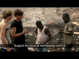 niall and louis from 1d see what two boys have to do to survive. rednose day
