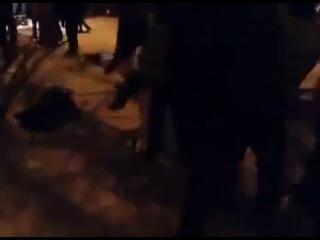 Київ, 10.12.2013. Революція Гідності. Протистояння на Лютеранській продовжується