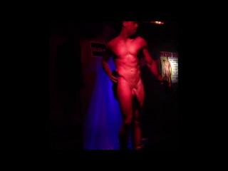 Strip go-go boy. metro disco. barcelona