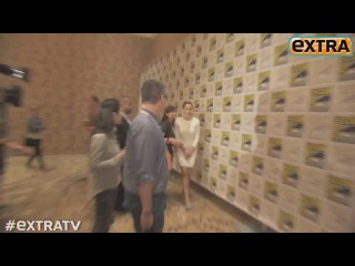 Jeff Bridges, Ben Barnes, Jennifer Lawrence. Comic Con