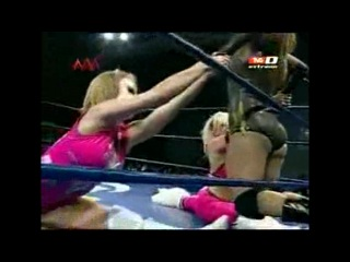 AAA Fusion  - Taya Valkyrie and Sexystar vs. Mary Apache and Faby Apache