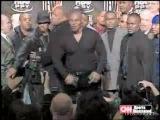Майк Тайсон vs. Lennox Lewis - драка на пресс-конференции