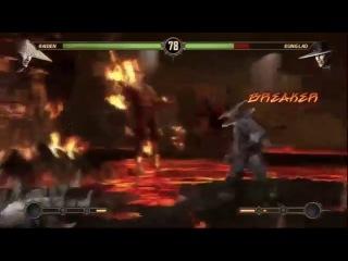 Часть 16 — Рэйден — Фильм прохождение игры Mortal Kombat 2013 (Это тебе не порно, детка!)