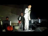 Miguel Antonio sings Give Love on Christmas Day