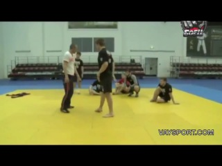 Вольный борец Бувайсар Сайтиев, дал мастер класс.