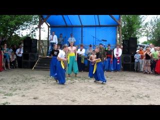 Бойовий Гопак на фестивалі Курган Леля 06.05.2012 в м.Рівне