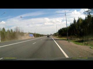 ДТП с участием фуры на трассе М10