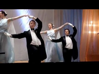 НОКИ им. С.В. Рахманинова. День открытых дверей 2012. Ансамбль бального танца.