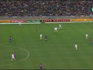 Футбол. Барселона - Реал (Мадрид) (чемпионат Испании 1993-1994, 18-й тур). Комментатор: Денис Цаплинд