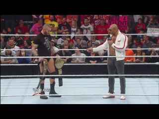 Batista returns and declares he's after Randy Orton's WWE World Heavyweight Title_ Raw, Jan. 20, 201