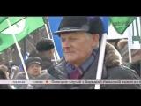 Сюжет о марше в защиту российских детей 2-ого марта 2013 года.