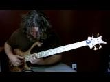 Соло на бас-гитаре (Aram Bedrosian - A Dark Light)
