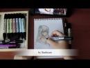 Как я рисую мангу :3