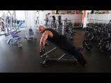 Мастер-класс Victor Martinez. Тренировка дельтовидных мышц.