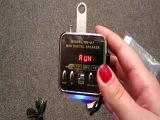 Музыкальный плеер - FM radio: -подключение к компьютеру -подключение к телефону -подключение к DVD плееру FM radio Разъемы -ра