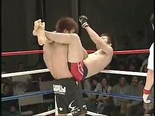 Шинья Аоки vs Киниёши Хиронака