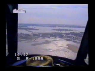 Нарьян-Мар. Наводнение-98: вид сверху.