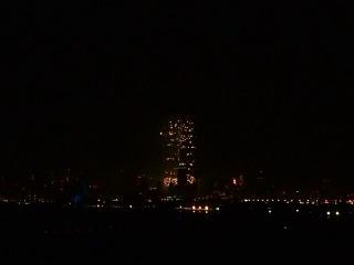 Новогодний фейерверк в Дубае 2014. Часть 2.