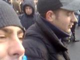 Андрій Мамай дає інтерв'ю Euronews на майдані!