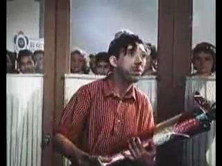 «Девушка с гитарой» (Мосфильм, 1958) — первая роль в кино Юрия Никулина