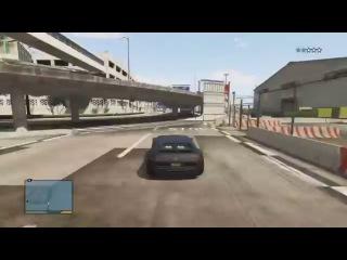ГТА 5 - Лучшие удачные трюки! 2 EPIC GTA 5 STUNT COMPILATION 2