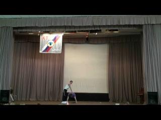 Фестиваль искусств (1 место). Юрий Милеев и Руслан Блынский. Парная силовая акробатика (17.05.2013)
