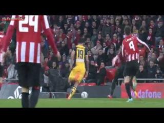 Diego Costa Goal ~ Athetic Bilbao vs Atletico Madrid 1-2 ( Copa Del Rey ) HD