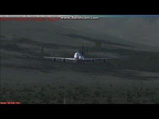 моя посадка на аэробусе А380-800 извените за качество видео