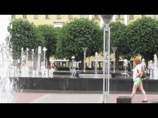 Поющие фонтаны. Питер