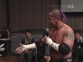 Tag Team Three Way Match: Danshoku Dino & Makoto Oishi vs Hikari Minami & Ken Ohka vs Jun Kasai & Miyako Matsumoto