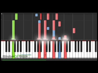 Naruto- Hinata vs Neji - Piano Tutorial (Synthesia)