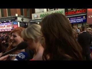 Lydia Rose Bewley Tamla Kari Laura Haddock Jessica Knappett at the The Inbetweeners Movie World Premiere at London England