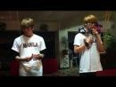 ☆ Fanсam [301212] СэХи и ЧханХи - You Raise Me Up (Специальное выступление для филиппинских Аура)