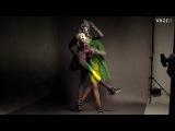 Dani Seitz for Vogue Portugal (April 2012) behind the Scenes photo shoot by Benjamin Kanarek