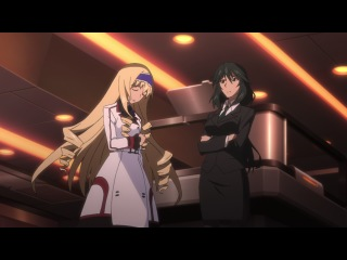 IS: Infinite Stratos / Необъятные Небеса - 1 сезон 4 серия [Eladiel & Lupin]