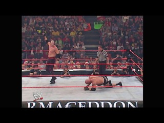 WWE: Armageddon 2003 - Goldberg vs. Triple H vs. Kane